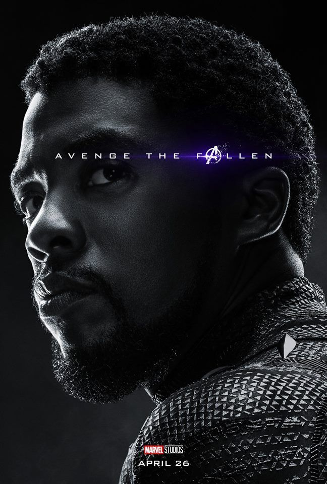 Come to the fallen with these new posters of the end of the avengers.