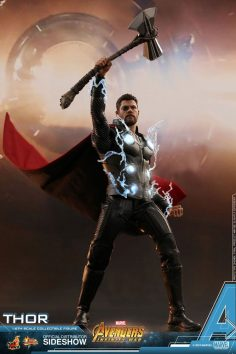 Marvel Thor figure of sixth scale of Hot Toys | Sides …