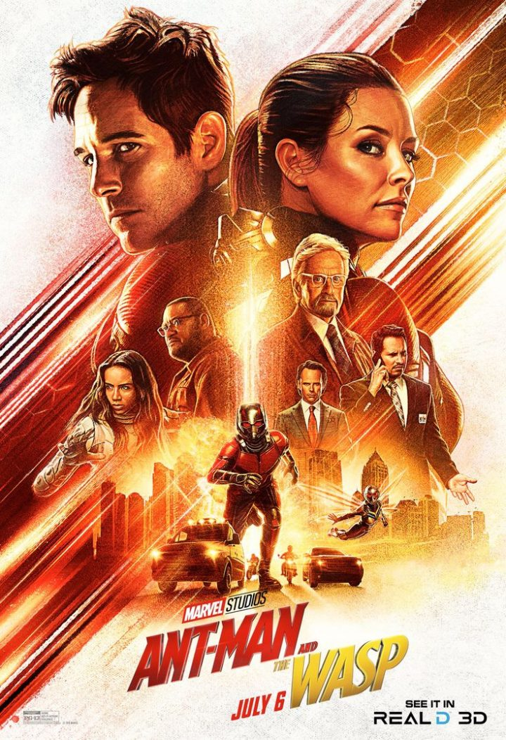 New & # 39; Ant-Man and the Wasp & # 39; 3D RealD poster