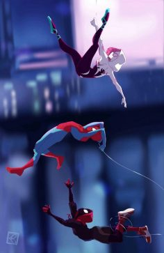 Spider-Man in the SpiderVerse by May Lawless