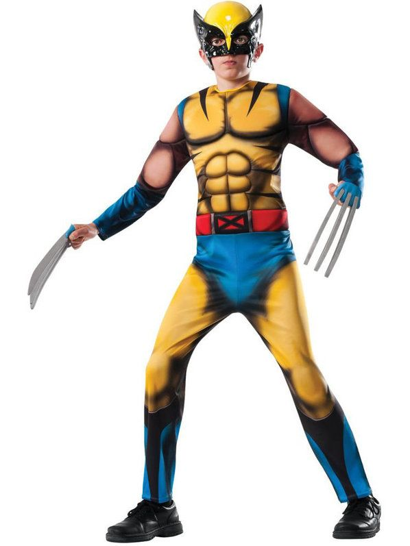 Wolverine Deluxe costume for a child