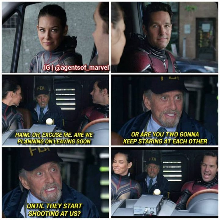 Ant-Man, Scott Lang, Paul Rudd, The Wasp, Hope Pym …