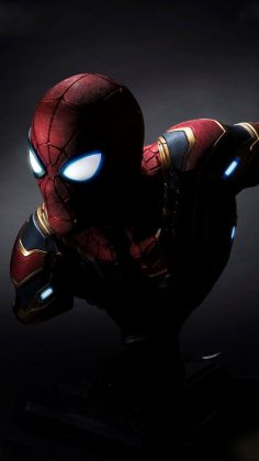 Iron spider wallpaper away from home, iPhone – iPhon …