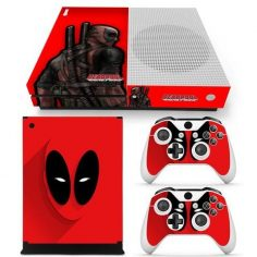 Marvel Deadpool Mask Vector Art Design Xbox One S Skin Decal