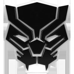 Marvel table lamp Black Panther Mood Light