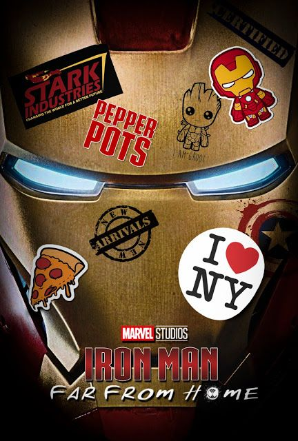 H GraphicsPro: Iron Man poster (away from home style …