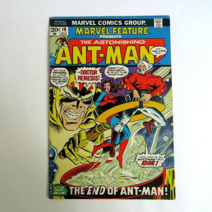Marvel Feature 10 (1973) Amazing Ant-Man, the Marvel Wasp C07