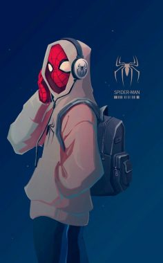 Spider-Man crosses parallel dimensions and …