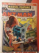 The Marvel feature features the amazing ant man. # …