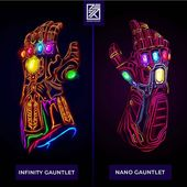 "Ꮇᴀʀᴠᴇʟ ᎠᏟ Ꭰᴀɪʟʏ Ꮯᴏᴍɪᴄ Ꭼᴅɪᴛ s on Instagram: ""What glove would you choose Infinity Gauntlet or Nano Gauntlet? – Follow for more information: @ Marvel.DC.Team – urnActivate post notifications ✔️ – … """