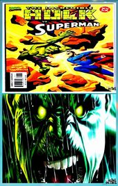 Incredible Hulk vs. Superman # 1 Near Mint 1999 Mar …