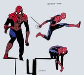Latest Spider-Man character designs by John Pa …