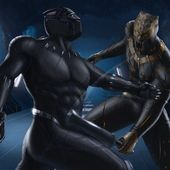 2048×2048 Black Panther and Erik Killmonger Artwor …