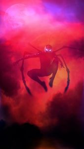 Animated video GIF Spider-Man Infinity War End Game