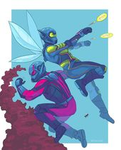 Ant-Man and The Wasp by miles31400
