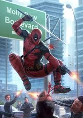 Deadpool Issue # 1 (Redux), Mike Capprotti