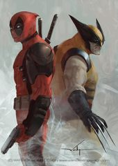 Deadpool vs Wolverine by waLek05 on DeviantArt