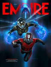 Empires Ant-man and the cover of Wasp #empir magazine …