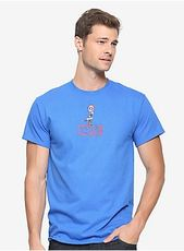 T-shirt with the Marvel Captain America logo – BoxLunch Exclusive