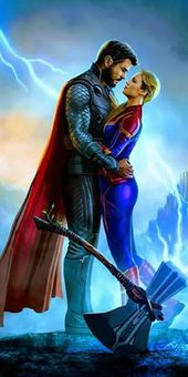 Thor-Captain Marvel