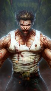 Wolverine, Claws, Marvel, 4K, click on the image for HD M …